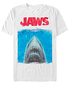 Men's Shark Movie Poster Short Sleeve T-Shirt