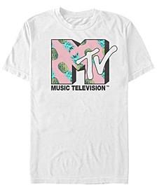 Men's Pineapple Logo Short Sleeve T-Shirt