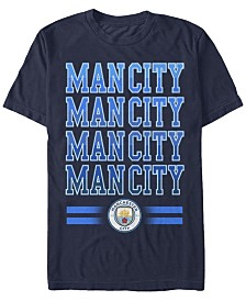 Manchester Football Men's Club Man City Logo Short Sleeve T-Shirt