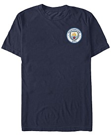 Manchester Football Men's Club Team Logo Short Sleeve T-Shirt