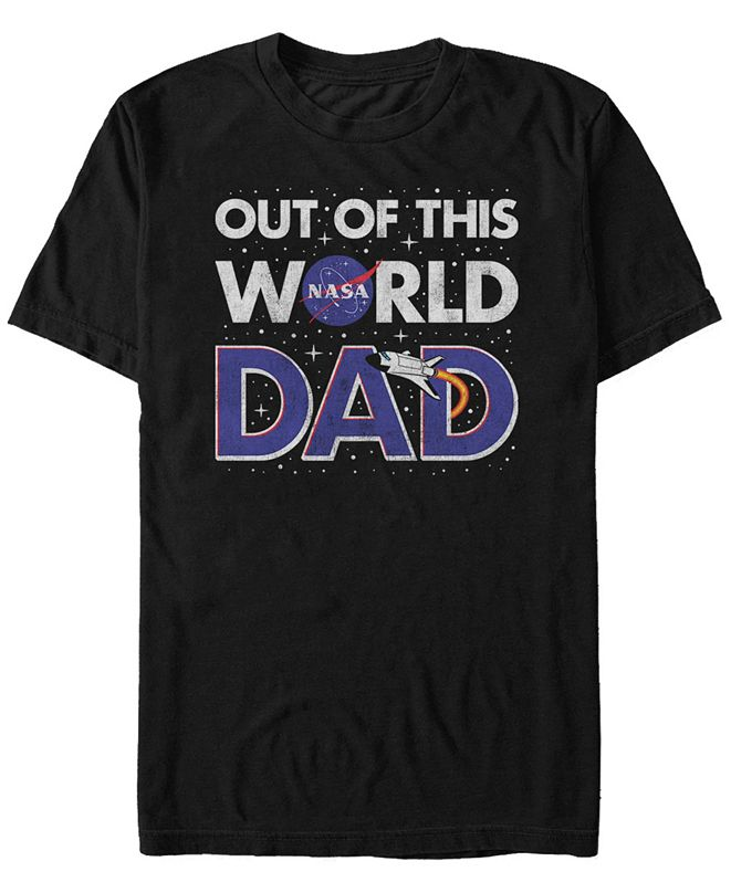 NASA Men's Dad Your Out Of This World Short Sleeve T-Shirt