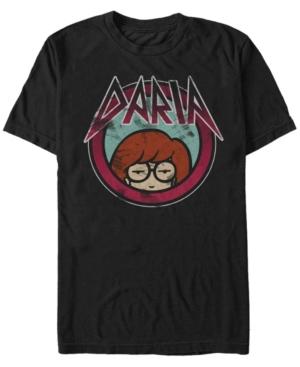 Men's Rock Style Font Short Sleeve T-Shirt