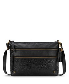 The Sak Collective Leather Lance Crossbody