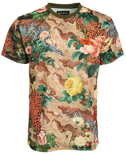 Reason Men's Eclectic Garden T-Shirt