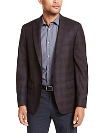 Men's Classic-Fit Plaid Sport Coat