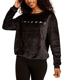 Juniors' Friends Plush Sweatshirt