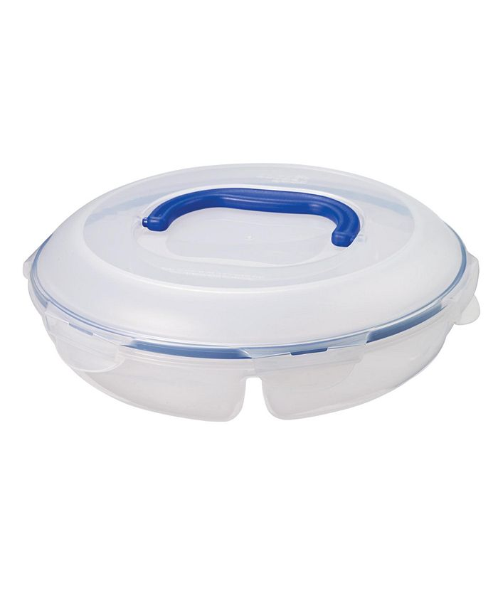 Lock n Lock - Easy Essentials™ Specialty Divided 77-Oz. Snack Container