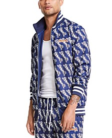 Men's Avery Logo Graphic Track Jacket