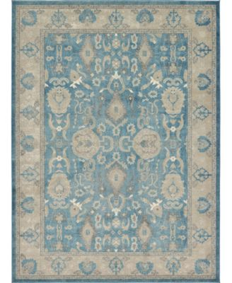 Bellmere Bel6 Light Blue 5' x 5' Round Area Rug