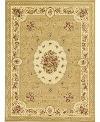 Belvoir Blv4 Tan 9' x 12' Area Rug