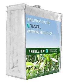 Christopher Knight Pebbletex Tencel Twin Xl Mattress Protector