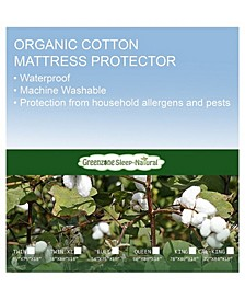 Organic Cotton Twin Xl Mattress Protector