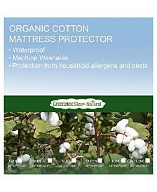 Greenzone Organic Cotton Twin Xl Mattress Protector