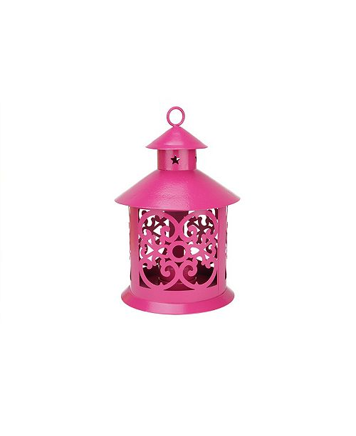 Northlight Shiny Votive Or Tea light Candle Holder Lantern with Star and Scroll Cutouts