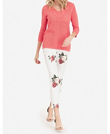 Tribal Pull-On Printed Jegging