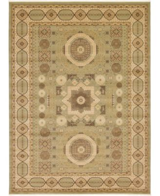 Wilder Wld2 Light Green 8' x 8' Round Area Rug