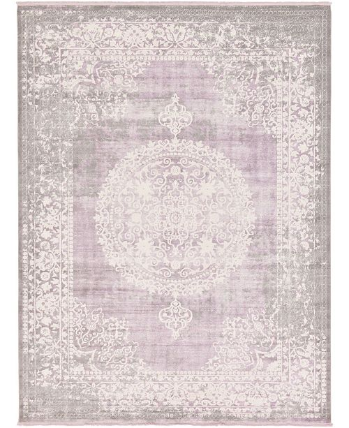 Bridgeport Home Norston Nor4 Purple Area Rug Collection