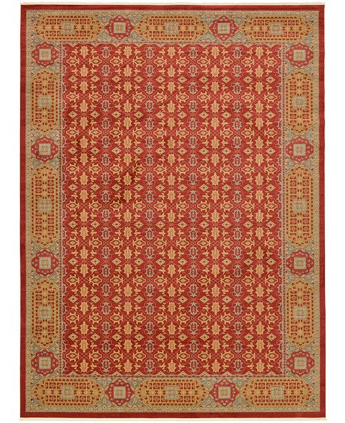 Bridgeport Home Wilder Wld7 Red Area Rug Collection