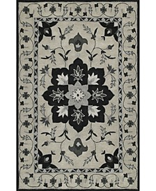 Torrey Tor4 Silver Area Rugs Collection