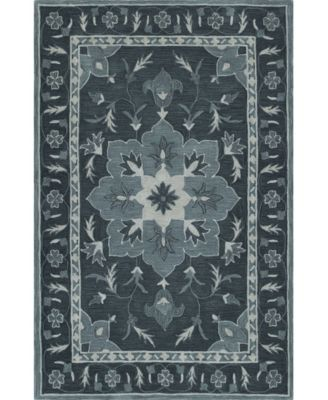 CLOSEOUT! Torrey Tor4 Slate 5' X 7'6 Area Rugs