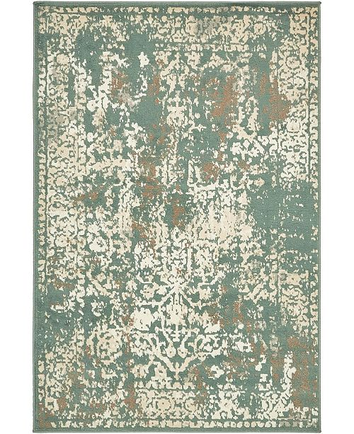 Bridgeport Home Tabert Tab1 Green Area Rug Collection