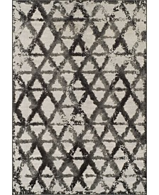 D Style Logan Lo11 Pewter Area Rugs Collection