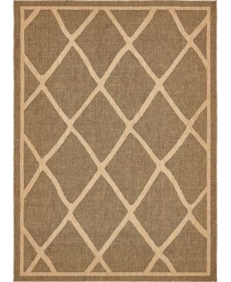 Pashio Pas7 Brown 9' x 12' Area Rug