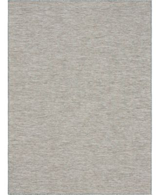 Pashio Pas8 Light Gray 2' x 6' Runner Area Rug