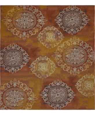 Pashio Pas2 Rust Red 8' x 11' 4