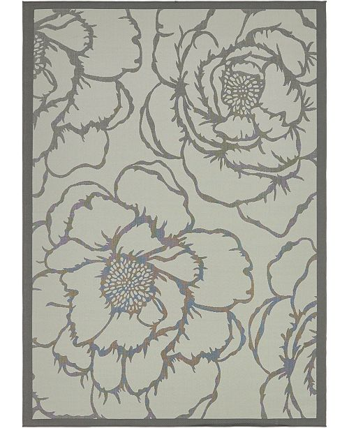Bridgeport Home Pashio Pas4 Gray Area Rug Collection