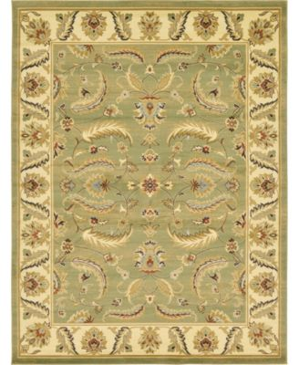Passage Psg1 Green 9' x 12' Area Rug