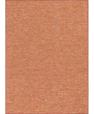 Pashio Pas8 Terracotta 2' x 6' Runner Area Rug