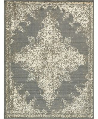 Tabert Tab7 Gray 9' x 12' Area Rug
