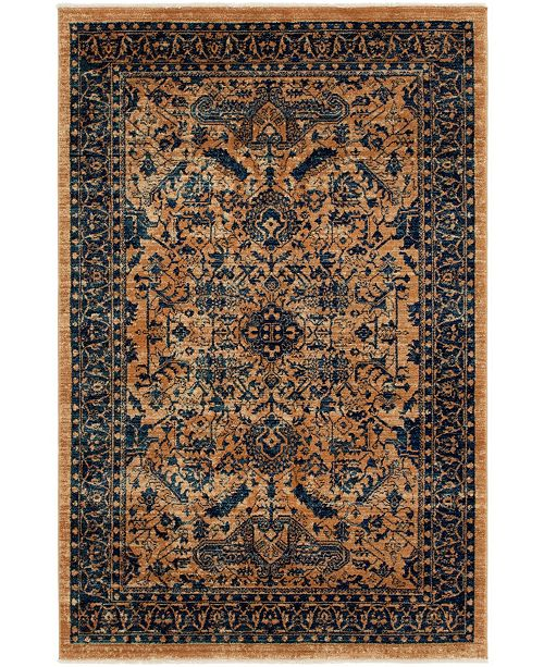 Bridgeport Home Thule Thu5 Navy Blue Area Rug Collection