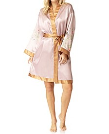 Butterfly Kimono Wrap Robe, Online Only