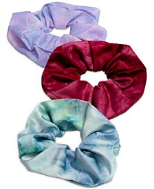 3-Pc. Tie-Dyed Scrunchie Set