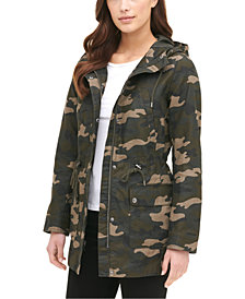 Levi's® Women's Printed Cotton Hooded Jacket