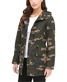 Levi's® Hooded Camoflauge Print Jacket