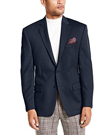 Luxury Wool/Cashmere-Blend Classic-Fit Sport Coat