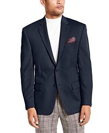 Wool/Cashmere-Blend Classic-Fit Sport Coat