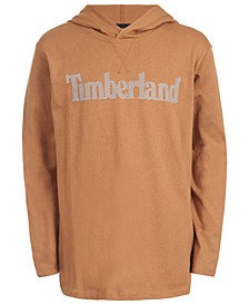 Big Boys Barnstead Wheat Hooded Logo T-Shirt