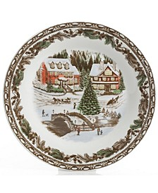 Christmas Toile 16-pc Dinnerware Set
