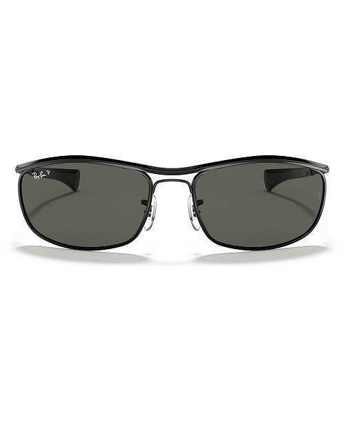 Ray-Ban OLYMPIAN I DELUXE Polarized Sunglasses, RB3119M 62
