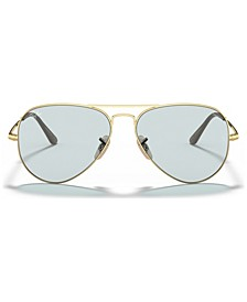 AVIATOR METAL II Sunglasses, RB3689 55
