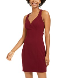 B Darlin Juniors' Strappy Sheath Dress