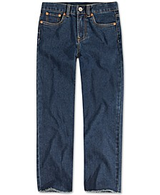 Big Girls High Rise Straight Jeans