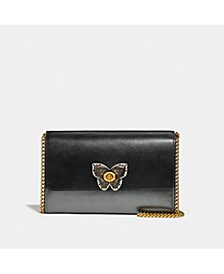 Butterfly Marlow Leather Crossbody