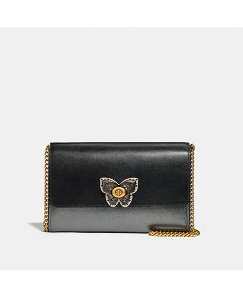 COACH Butterfly Marlow Leather Crossbody