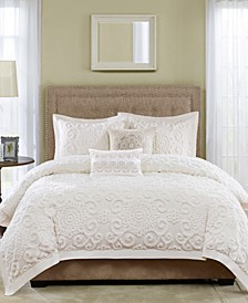 Suzanna Full/Queen 3 Piece Duvet Cover Set