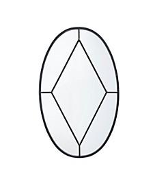 Martha Stewart Cantitoe Oval Accent Mirror